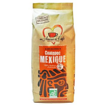 Café Grains bio Mexique Coatepec 1kg