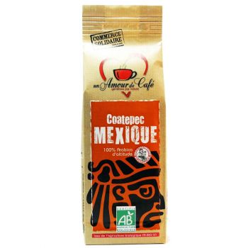 Café Grains bio Mexique Coatepec 250g
