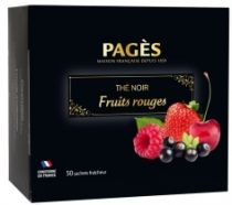 Thé Fruits rouges x50